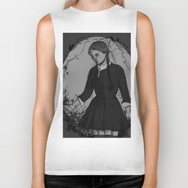 Wednesday Addams Biker Tank