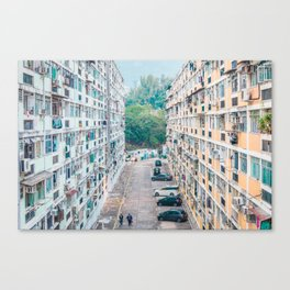 Public Housing Canvas Print