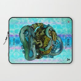Mysticx & Magick - The Elementals: Genbu, The Water Tortoise of the Northern Tides Laptop Sleeve