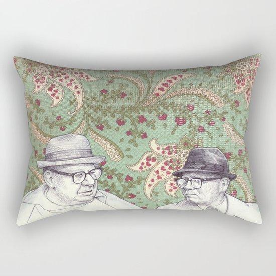 Old Men Rectangular Pillow