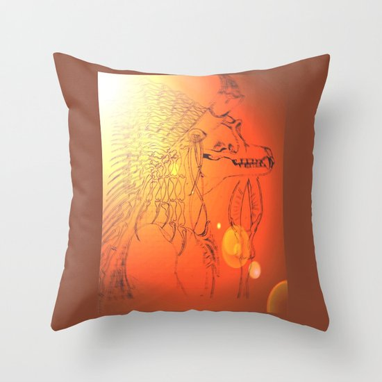 BAD MEDICINE 10 Throw Pillow