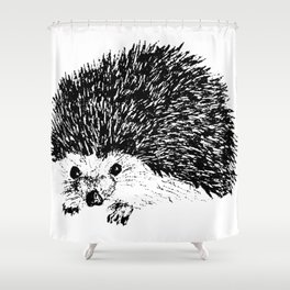 Gilley the Hedgehog Shower Curtain