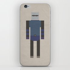 Retro Mr.Freeze iPhone & iPod Skin