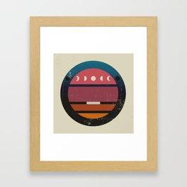 Lunar Framed Art Print