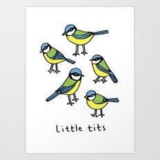 little tits Art Print