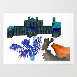 The Don Cesar (inverse) Art Print