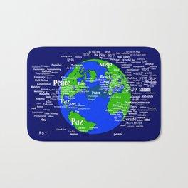 Peace on Earth Bath Mat