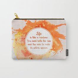 A. Ramaiya's quote Carry-All Pouch