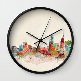 perth australia Wall Clock