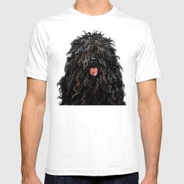 Black Puli Dog T-shirt