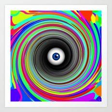 LSD eye  Art Print