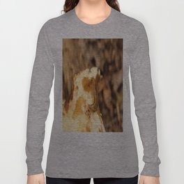 A Slug on a Mushroom Long Sleeve T-shirt