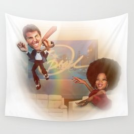 The Tom Cruise and Oprah Moment  Wall Tapestry
