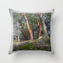 MADRONA WOODS Throw Pillow