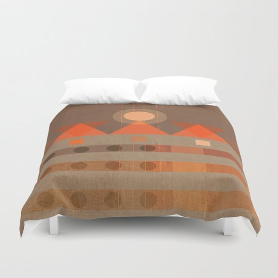 Geometric/Abstract 11 Duvet Cover