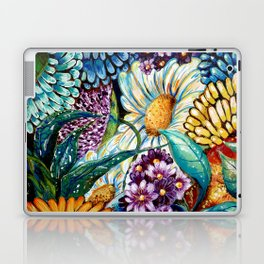 Flowers and Wild Nature Laptop & iPad Skin