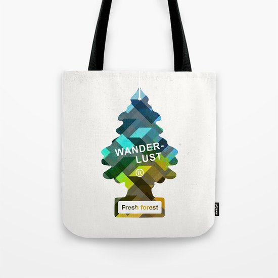 Wunderbar forests Tote Bag