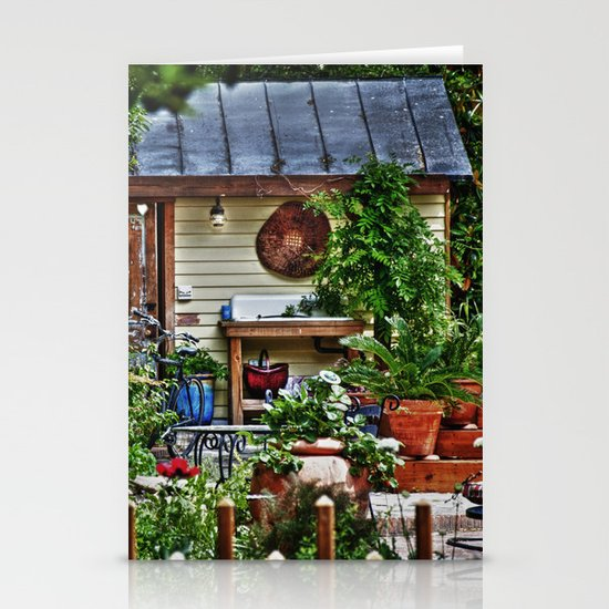 New Bern Garden Shed Stationery Cards