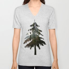 Divided In Fall (There Are No Picnics Here) Unisex V-Neck