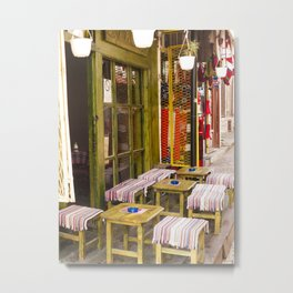 A Place for Turkish Coffee Metal Print