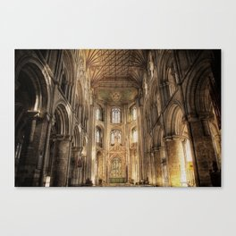 Peterborough Cathedral  Canvas Print