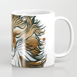 Sleepy Tea Fox Coffee Mug