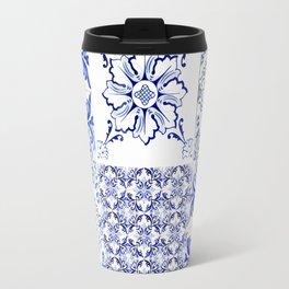 azulejos - Portuguese painted tiles Travel Mug