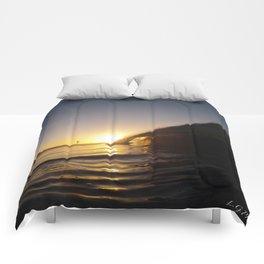 jah sunrise Comforters