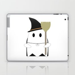 Ghost in Witch Costume Laptop & iPad Skin