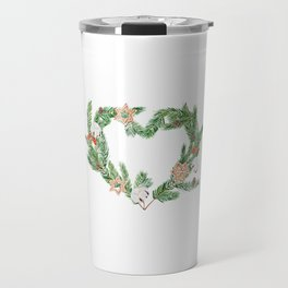 Nordic wreath Travel Mug