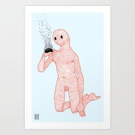 And Still It Burns Art Print