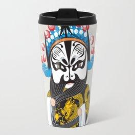Beijing Opera Character ZhangFei Travel Mug
