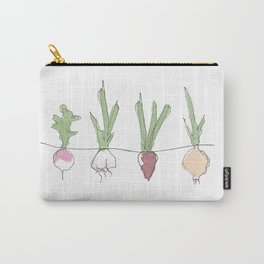 Vegetable Patch Carry-All Pouch
