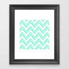 3D CHEVRON Framed Art Print