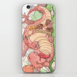 Gratte Dragon iPhone Skin