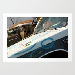Kiddie Car Art Print