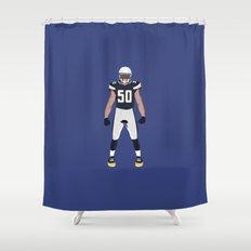 Bolt Up - Manti Te'o Shower Curtain