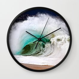 Waves - The Wedge Newport Beach CA Wall Clock