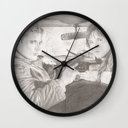 The Winchester Brothers Wall Clock