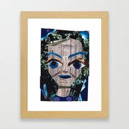 Bette Davis #PrideMonth Collage Portrait Framed Art Print