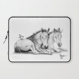 Twin Foals Laptop Sleeve