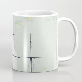 All Masts Up Coffee Mug
