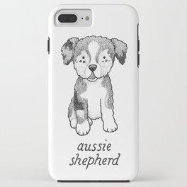 Dog Breeds: Australian Shepherd iPhone Case