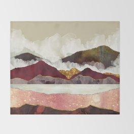 Melon Mountains Throw Blanket