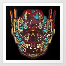 Optimus Grime Art Print