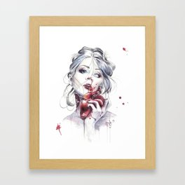 Your Heart Framed Art Print