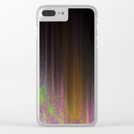 Neon Sands Clear iPhone Case