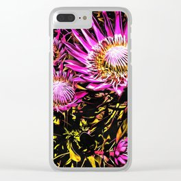 King Proteas Clear iPhone Case