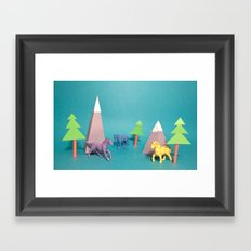 Where Horses Go to Die Framed Art Print
