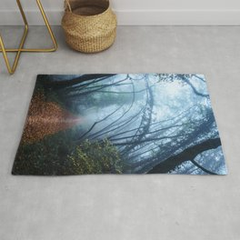 The Forest Beckons Rug